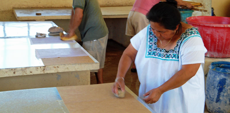 Providing local employment for local Yucatecans.